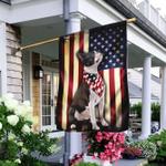 Boston Terrier American Flag