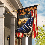 School Bus Driver Flag