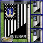 Personalized U.S Air Force Veteran Logo Ranks Custom Flag