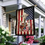Drummer American Flag