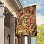 Firefighter - Tradition Dedication Sacrifice Flag
