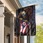 Ohio State Eagle Flag