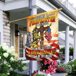 Being A Retired Firefighter Is An Honor Flag MLH1701F