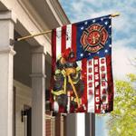Firefighter - Honor Respect Courage Flag