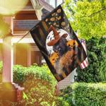 Labrador Halloween Flag