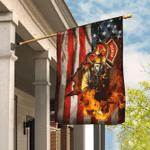 Firefighter American U.S. Flag