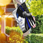 Faith Over Fear - Thin Blue Line Flag
