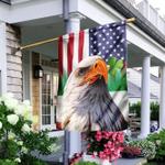 Eagle Shamrock Flag