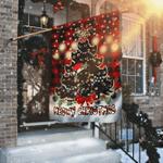 Meowy Christmas Flag