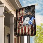 Horses American U.S. Flag