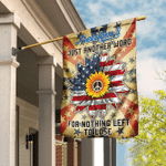 Freedom's Just Another Word For Nothing Left To Lose Hippie Flag