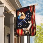 Strong Nurse. America US Flag