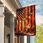 Dragonfly American US Flag