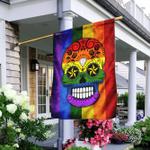 LGBT Skull Flag