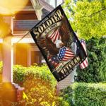 Being A Veteran Is An Honor America Flag