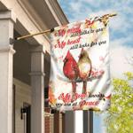 Cardinal My Mind Still Talks To You Flag