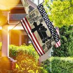 Flagwix, Flag For Cowboy Dad, Cowboy Flag, Happy Father's Day In Heaven TTV23F