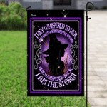 I Am The Storm Witch Flag