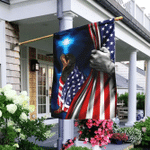 Rottweiler American Patriot Flag