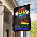 Love Is Love, Pride LGBT Flag