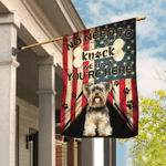 Yorkie. Yorkshire Terrier. We Know You Are Here Flag