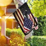 English Springer Spaniel American Patriot Flag