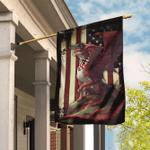 Red Dragon American Flag