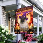 Halloween. Beware Of The Pug Flag