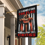 Stand For The Flag Kneel For The Cross Flag