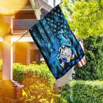 Gnome Nurse American US Flag