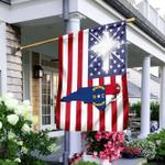 God Bless North Carolina Flag