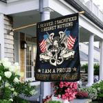 Proud Navy Veteran Flag