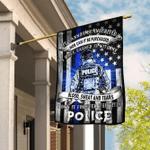 Police. The Thin Blue Line Flag