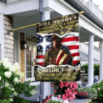 Veteran All My Life I Have Lived By A Code Flag