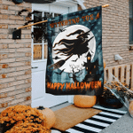 Witching You A Happy Halloween Flag