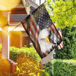 American Eagle Patriot. We The People Flag
