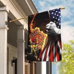 Christian Firefighter Flag
