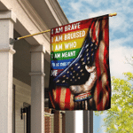 I Am Brave I Am Bruised I Am Who I Am Meant To Be This Is Me, LGBT Flag