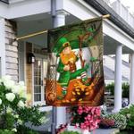 Happy Saint Patrick's Day Irish v2 Flag