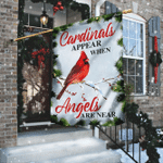Cardinals Appear When Angels Are Near Flag