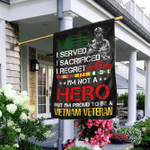 I'm Proud To Be A Vietnam Veteran Flag