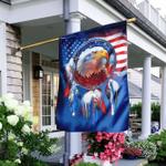 Dreamcatcher Native American Eagle U.S. Flag
