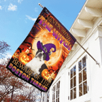 Halloween. Beware Of The Boston Terrier Flag