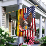 Vietnam Veteran Of America Eagle Flag