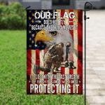 Proud America Thank You Veteran Flag