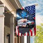 Paramedics Ambulance Flag