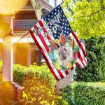 Welcome Peeps Easter Flag