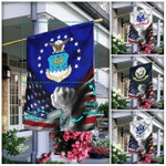Personalized United States Armed Forces Flag