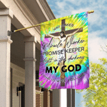 God Jesus Christian Way Maker Hippie Flag