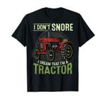 Tractor Farmer Rancher Tractors T-Shirt